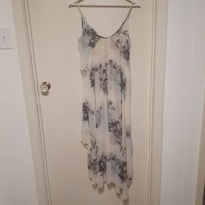 Intimately free people white floral tank dress